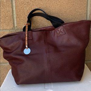 Pulicati pebbled leather tote handbag Large